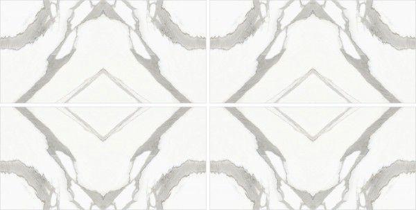 - 600 x 1200 мм (24 x 48 дюймов) - Statuario infinity  AB