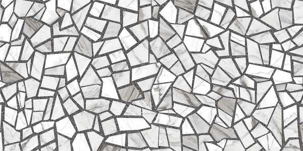 - 600 x 1200 мм (24 x 48 дюймов) - rock-mosaic-grey-1