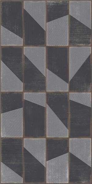 - 600 x 1200 мм (24 x 48 дюймов) - grunge-black-decor